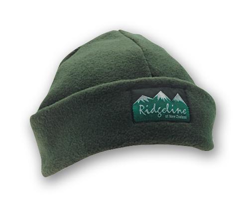43c091d3755 Ridgeline Fleece Beanie Olive - Benson Archery