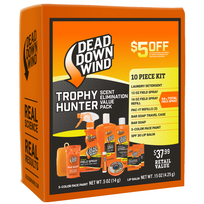 3d-evolve-dead-down-wind-10pc-trophy-hunter-kit-39552