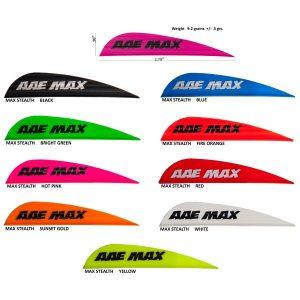 aae-max-stealth-vane-black-100pk-39116